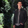 Taylor Lautner lors du photocall de Twilight 3 à Rome le 17 juin 2010