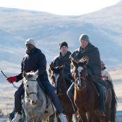 Harry et William : En bergers des montagnes ou en footballeurs chahuteurs, les princes font honneur à la mémoire de Lady Di...