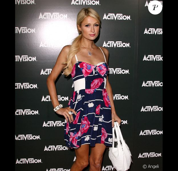 La célèbre héritière américiane Paris Hilton
