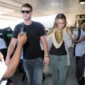 Miley Cyrus, folle de son chéri Liam Hemsworth : l'amour la rend rayonnante !