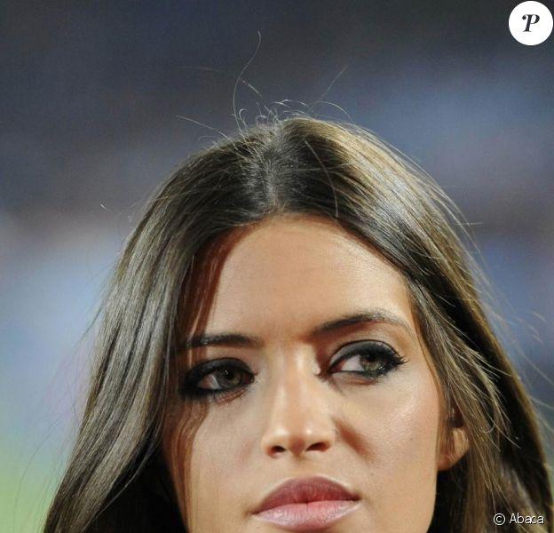 Sara Carbonero, journaliste espagnole superbe, couvre le match Espagne - Honduras, le 21 juin 2010.