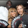 Le rappeur Akon et le producteur-DJ David Guetta (ici avec sa femme, Cathy Guetta) pourraient collaborer avec Britney Spears sur son prochain album.