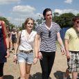 Festival de Glastonbury, samedi 26 juin : Emma Watson et son boyfriend George Craig