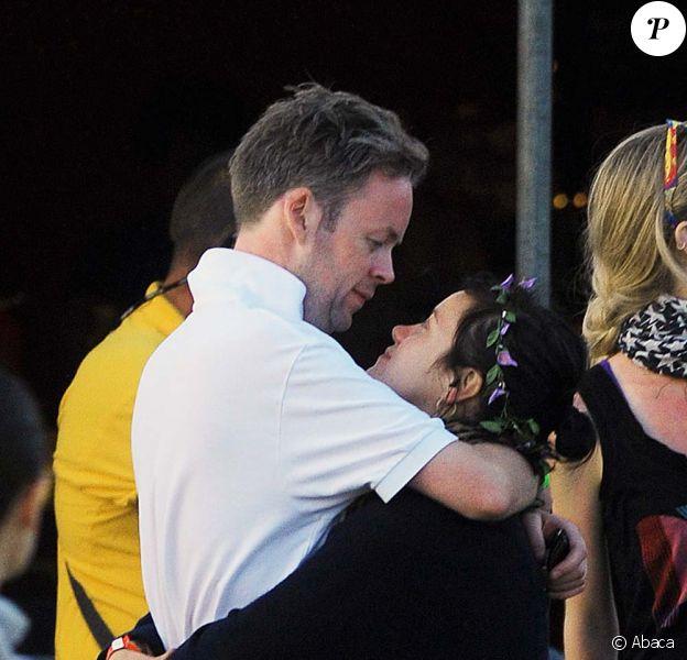 Festival de Glastonbury, samedi 26 juin : Lily Allen et son boyfriend, Sam Cooper