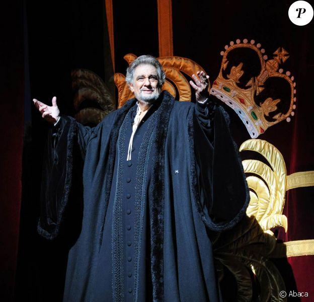 Placido Domingo faisait ses débuts de... baryton au Royal Opera House de Londres, le 29 juin 2010, dans Simon Boccanegra.