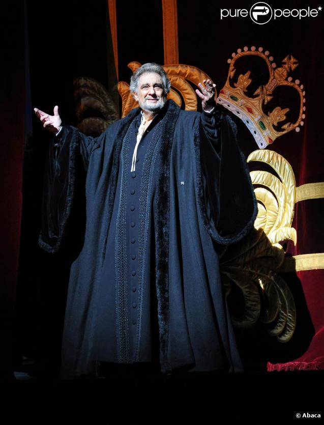 Placido Domingo faisait ses débuts de... baryton au Royal Opera House de Londres, le 29 juin 2010, dans  Simon Boccanegra .