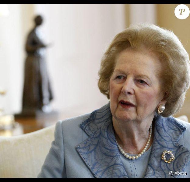 Margaret Thatcher en 2010