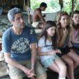 La famille de Marseille chez les Zaparas en Equateur