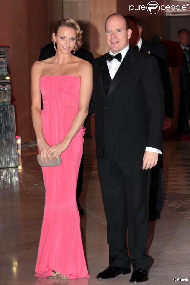 Charlene Wittstock et son prince Albert