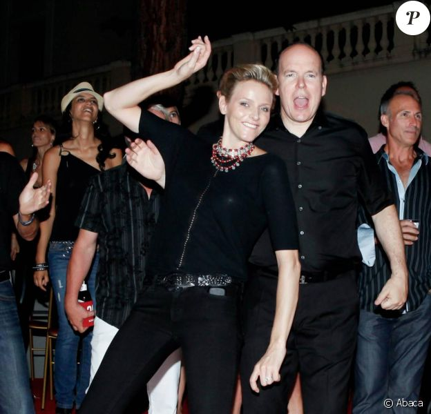 Albert de Monaco et Charlene ont la rock'n'roll attitude au concert d'Iggy Pop et de ZZ Top ! 5 Juillet 2010