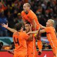 Uruguay-Pays-Bas, demi-finale de la Coupe du monde 2010, le 6 juillet : les buts !