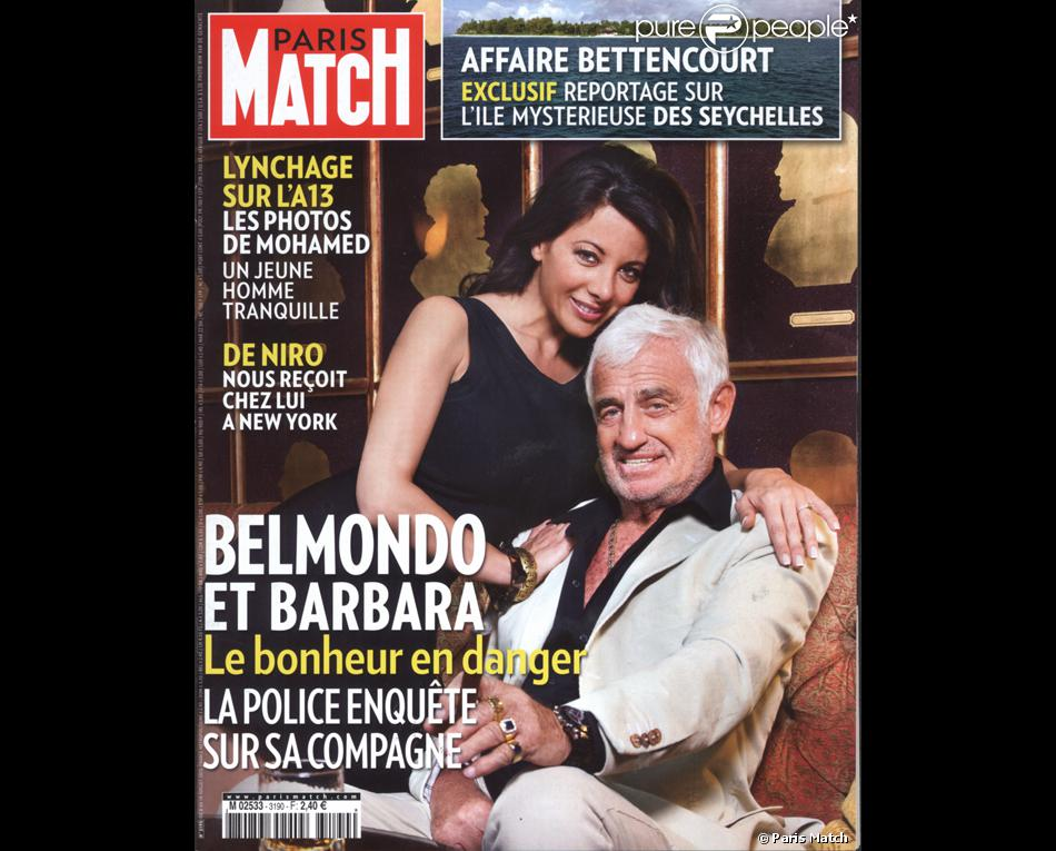 couverture de paris match purepeople. Black Bedroom Furniture Sets. Home Design Ideas