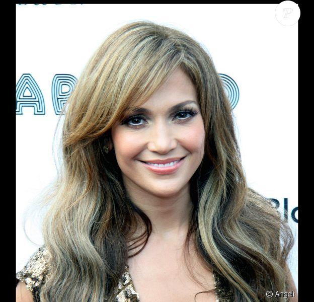 La chanteuse et actrice américaine Jennifer Lopez