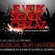 """Valéry Zeitoun lance le concours """"Je veux signer chez AZ"""""""