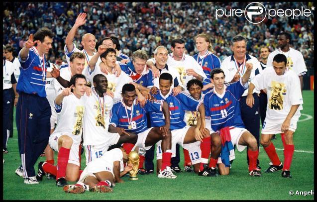 Thierry henry coupe du monde 1998 - Coupe du monde de foot 1998 ...