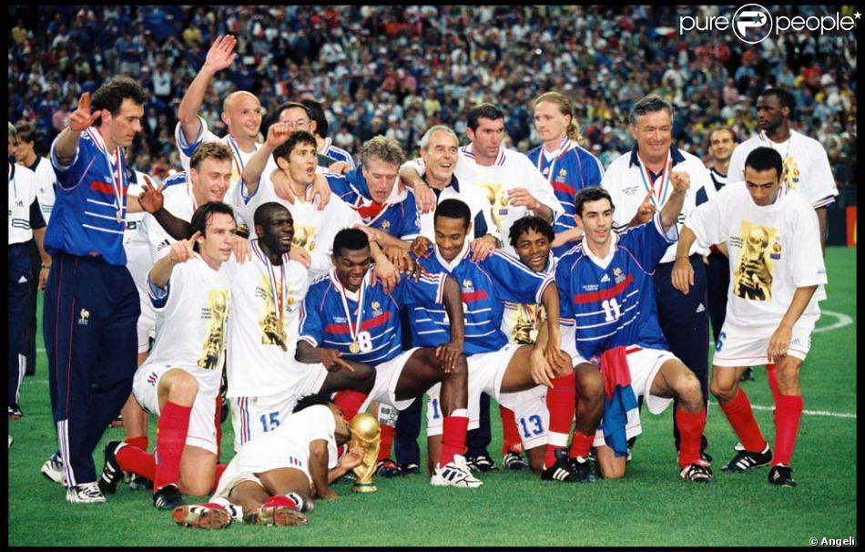 Thierry henry coupe du monde 1998 purepeople - France 98 coupe du monde ...