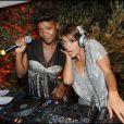 Emma de Caunes et Gladys Gambie à la Dior Party, au Country Club de Saint-Tropez, le 15/07/2010.