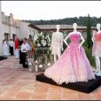 Dior Party, au Country Club de Saint-Tropez, le 15/07/2010.