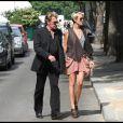Johnny et Laeticia amoureux à Paris fin mai 2010