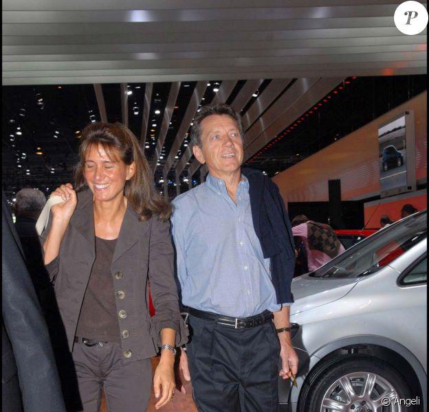 Bernard Giraudeau et sa dernière compagne Tohra Chalandon-Mahdavi