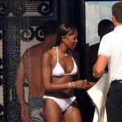 Naomi Campbell : Elle prend du bon temps en bikini avant d'affronter les juges...