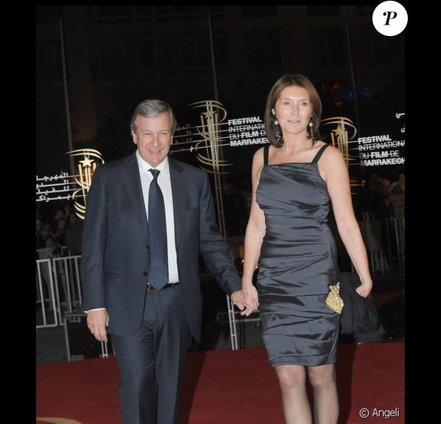 Cécilia Attias et Richard
