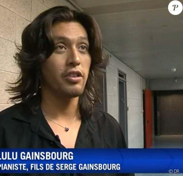 Lulu Gainsbourg, juillet 2010