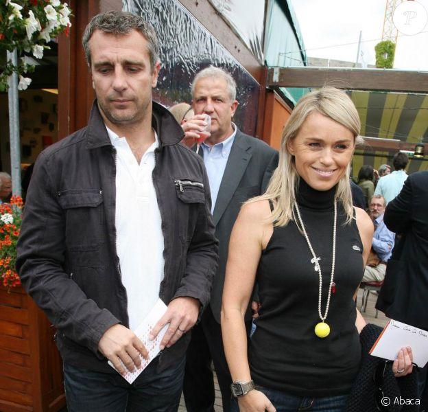 Cécile de Ménibus et son époux Yann Delaigue