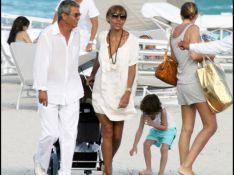Photos : Cathy Guetta en famille à Miami Beach...