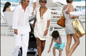 Photos : Cathy Guetta en famille à Miami Beach...