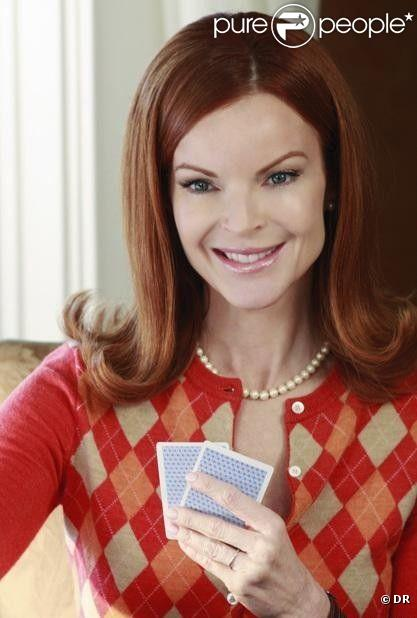 aujourd 39 hui marcia cross est dans la peau de bree van de kamp dans desperate housewives une. Black Bedroom Furniture Sets. Home Design Ideas