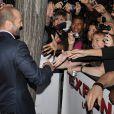 Jason Statham lors de l'avant-première de The Expendables au cinéma Le Grand Rex le 5 août 2010 à Paris
