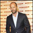 Jason Statham lors de l'avant-première du film The Expendables le 5 août 2010 à Paris au Grand Rex
