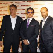 Le grand Sylvester Stallone, le sexy Jason Statham et l'impressionnant Dolph Lundgren ont enflammé Paris et sa banlieue !