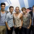 The Wanted avec Max George au centre !
