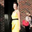 Katherine Heigl fait confiance à Yves Saint Laurent pour garder une allure de star...