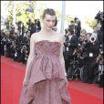 La marque italienne Sergio Rossi, n'a plus ses preuves à faires, puisque elle est de tous les tapis rouge, la preuve sur Milla Jovovich !