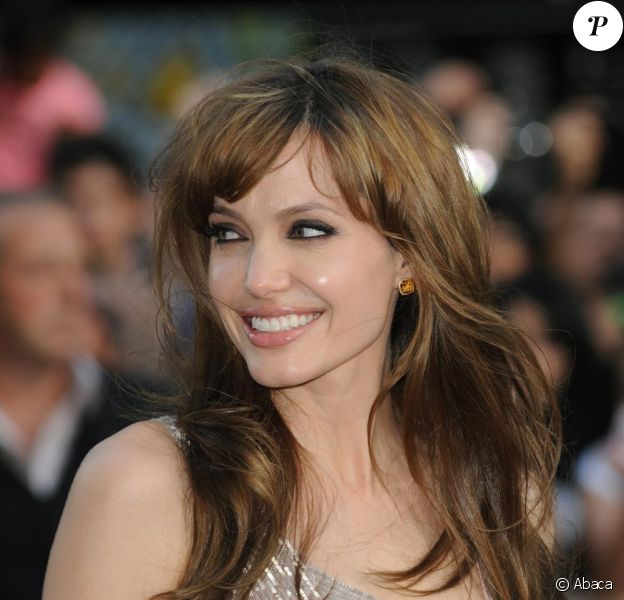 Angelina Jolie à l'avant-première de Salt à Londres le 16 août 2010