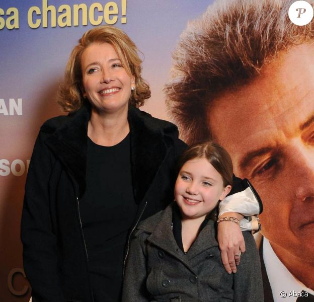 Emma Thompson et sa fille Gaia