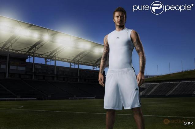 David Beckham pour Ea Sports Active 2