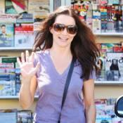 Kristin Davis : Un look qui fait flop mais un sourire... au top !