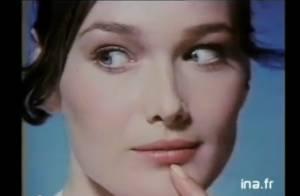 Carla Bruni vous invite à vous désaltérer ou déguster des mets délicieux... Elle est superbe !