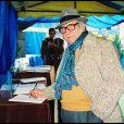 """C'est à Toulon, la ville où tout a commencé pour """"le boîteux corse"""", que François Marcantoni, décédé le 17 août 2010, a été inhumé le mardi 24 août. (photo : en 1993 aux obsèques de Zavatta)"""