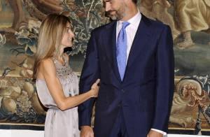 Letizia et Felipe d'Espagne toujours aussi amoureux, même sous le l'oeil de la Reine Sofia !