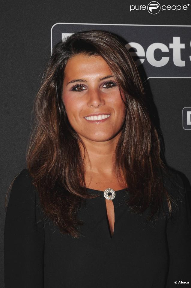 Karine Ferri à la soirée de lancement de la chaîne Direct Star, anciennement Virgin 17 (1er septembre 2010 au VIP Room de Paris)