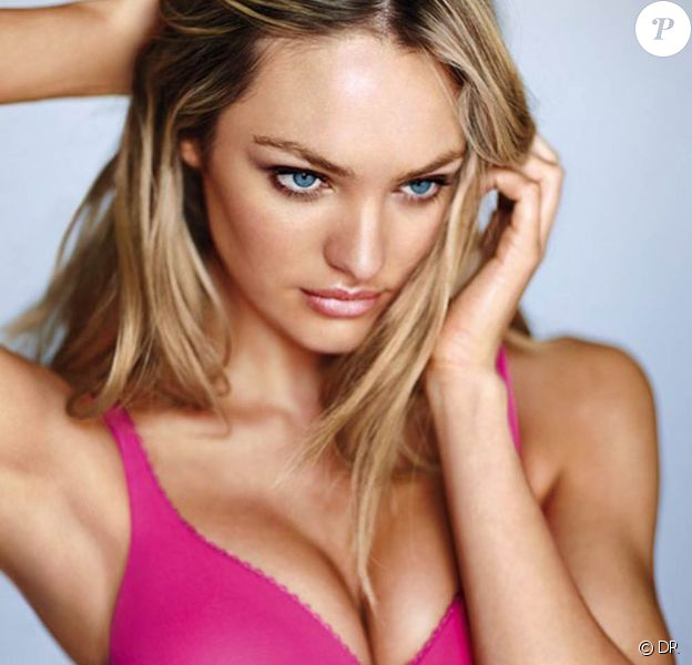Candice Swanepoel pour la nouvelle collection de Victoria's Secret.