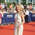 Kim Cattrall lors du Festival du Film Américain de Deauville pour présenter son nouveau film, Meet Monica Velours, le 10 septembre 2010