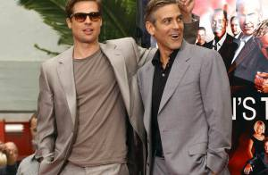 George Clooney offre 300 000 dollars à Brad Pitt !