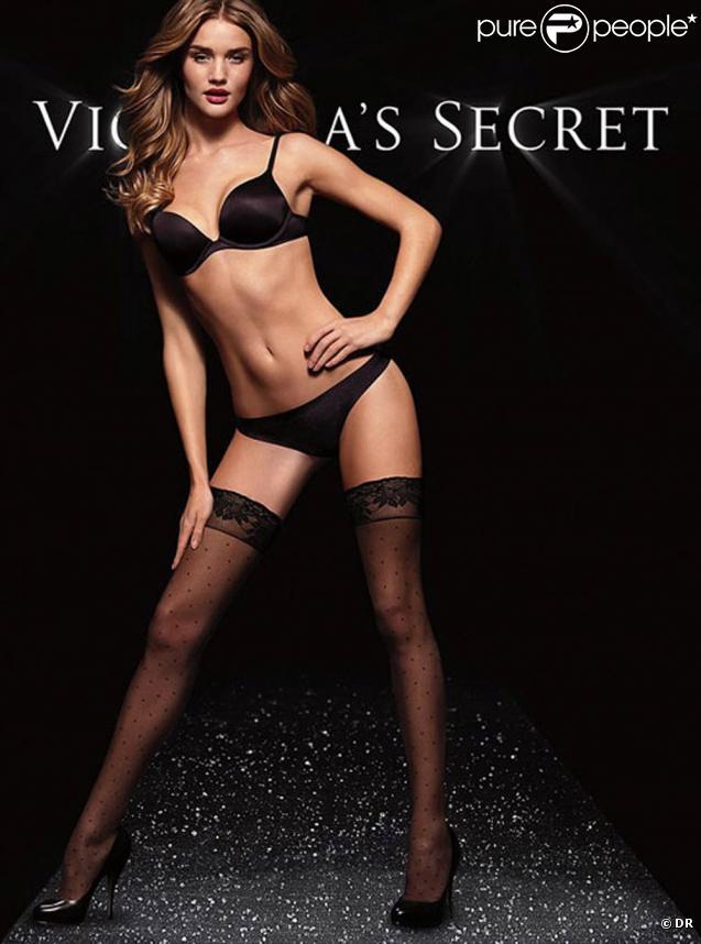 Rosie Huntington-Whiteley pour Victoria's Secret.