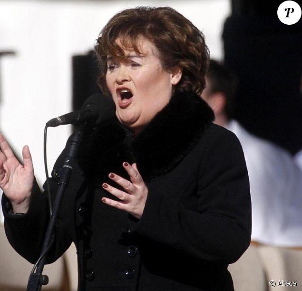 Susan Boyle chante pour Benoît XVI de passage au Royaume-Uni